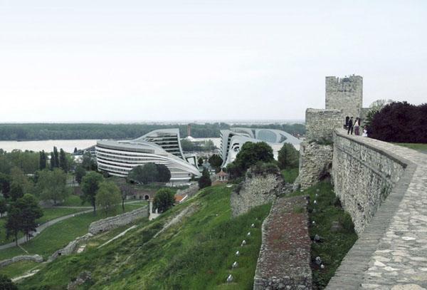 Omgeving Belgrado